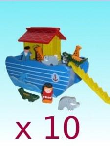 Lot de 10 arches de Noë