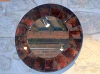 Miroir rond volcano diam 50 cm