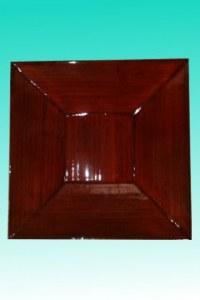 Plateau bambou carré rubis GM