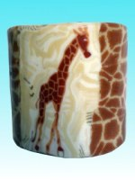 Bougie pillier Girafe