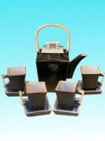 Service à thé en céramique grand modèle haut