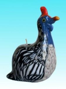 Bougie oiseau de Guinée MM