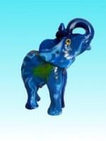 Bougie éléphant bleu PM