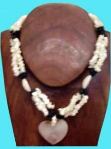 Lot de 10 collier un amour de coquillages 78 cm