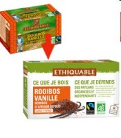 Thé Rooibos vanille 40g  20 sachets