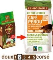 Café Perou 500 gr Ethiquable