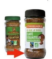 Café soluble Equateur 85 g Ethiquable