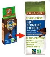Café moulu Ethiopie  DECA Ethiquable