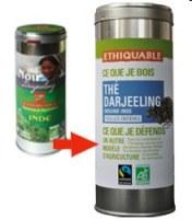 thé noir darjeeling en vrac Ethiquable 100g