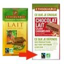 chocolat au lait cajou caramélisée