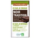 Chocolat  Noir tradition Equateur