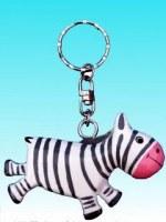 Porte clés zébre