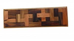 Casse tête tétris en bois