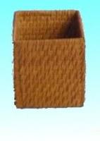 Pot à crayons bambou fumé