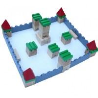Ville médiévale à construire en bois