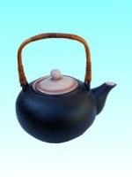 Théière 1L céramique craquelée Caramel