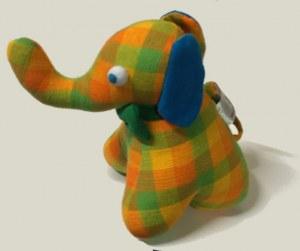 mini peluche éléphant