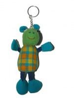 Porte clés peluche hippopotame