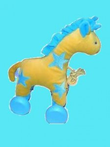 Girafe à roulettes
