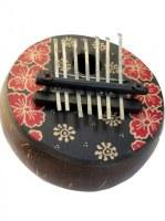 Piano à doigts Karimba batik
