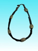 Collier herbe5 elements bronze