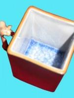 Mug céramique bleu