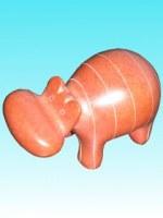 Hippo orange 10 cm