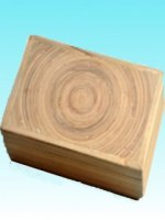 Boite bambou grand modèle naturel