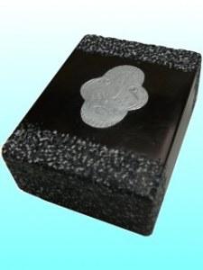 Boîte Kisii noire masque