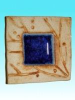 Porte-encens céramique Inde grand carré