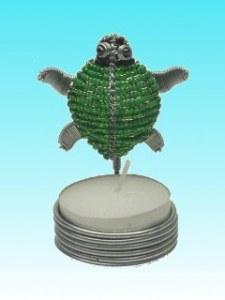 Bougeoir tortue verte