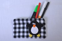 PENGUINE PENCIL CASE