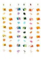 suspension éléphants et fleurs