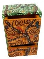 Cabinet à bijoux thème VERT
