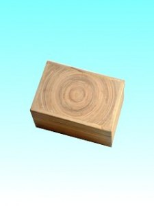 Boîte bambou sucrier naturel