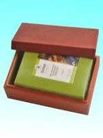 Boîte bambou sucrier orange