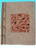Calepin papier Inde(lot de 3)