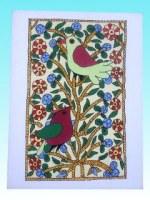 Carte postale 2 oiseaux