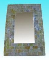 Miroir rectangulaire 20 x 25 paille
