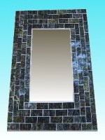 Miroir rectangulaire 20 x 25 dark
