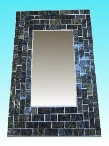 Miroir rectangulaire 20 x 25 dark
