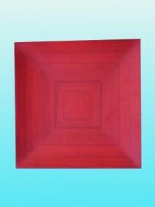Plat  carré 20 cm