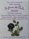 Encens 10 Cônes basilic