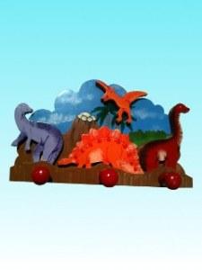 Porte manteaux dinosaures