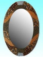 Miroir ovale Bromo