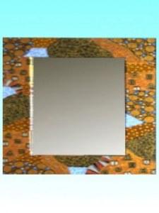 Miroir Bromo carré 37 x 37 cm