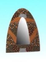 Miroir alley bromo 40x28.5 cm int 25x11.5 cm