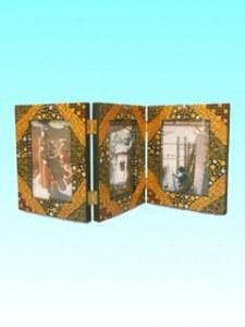 Triptyque à poser bromo   pour photos 10x15 cm , 48.8 x 21 cm