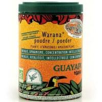 Warana Guarana  des terres d'origine Guayapi  poudre 70 gr