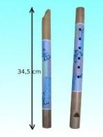 Flûte bambou papillon